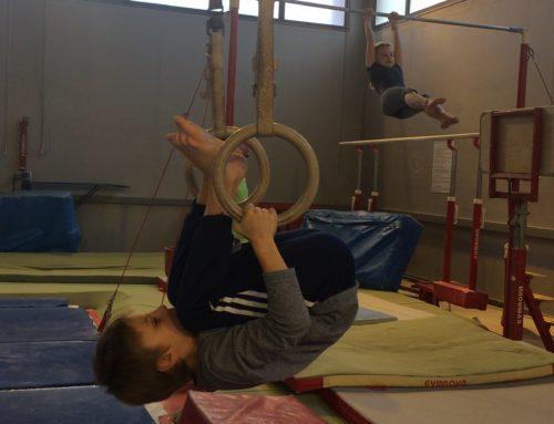 Gymnastique en CM1